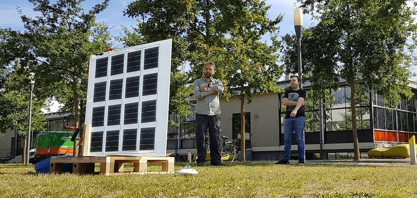 Solliance test nieuw dubbelzijdig en flexibel zonnepaneel